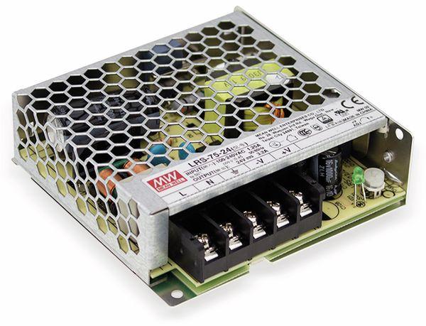 Schaltnetzteil MEANWELL LRS-75-36, 36 V/2,1 A