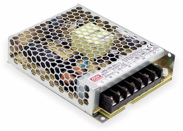 Schaltnetzteil MEANWELL LRS-100-5, 5 V/18 A