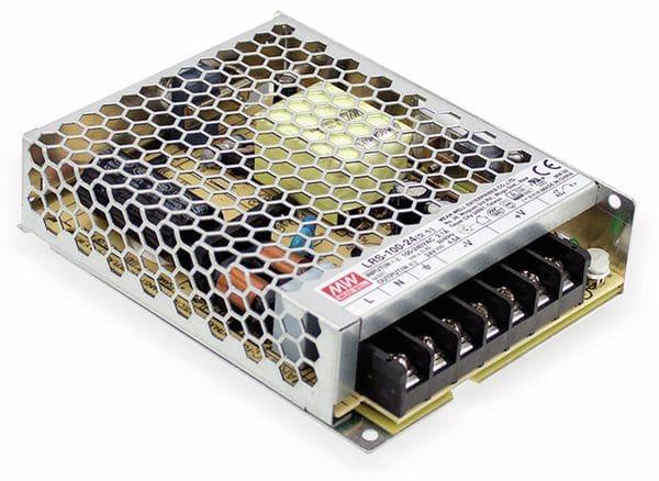 Schaltnetzteil MEANWELL LRS-100-12, 12 V/8,5 A