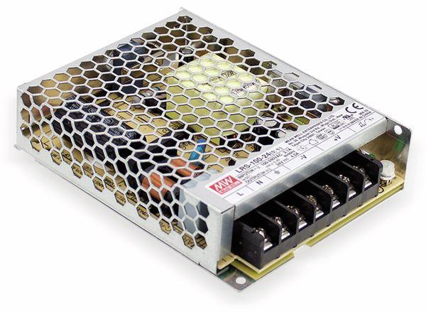 Schaltnetzteil MEANWELL LRS-100-24, 24 V/4,5 A