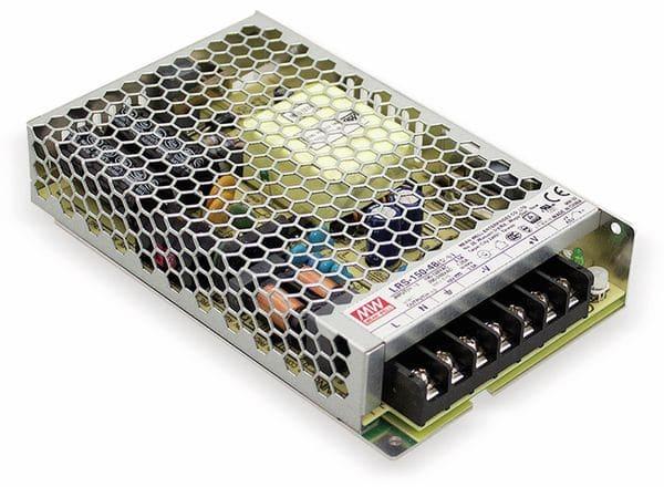 Schaltnetzteil MEANWELL LRS-150-15, 15 V/10 A