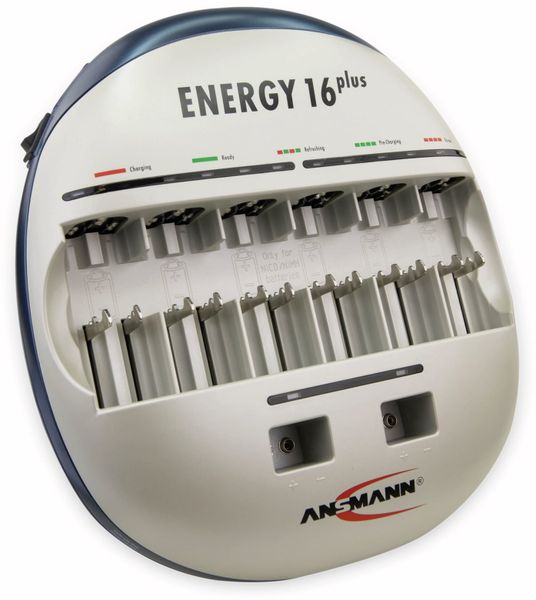 Ladegerät, ANSMANN, Energy 16 plus - Produktbild 1