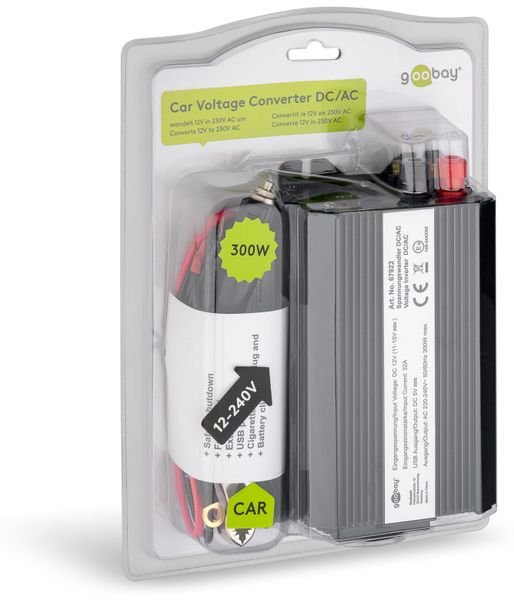 Wechselrichter, GOOBAY, 12V-/230V~, 300W - Produktbild 2