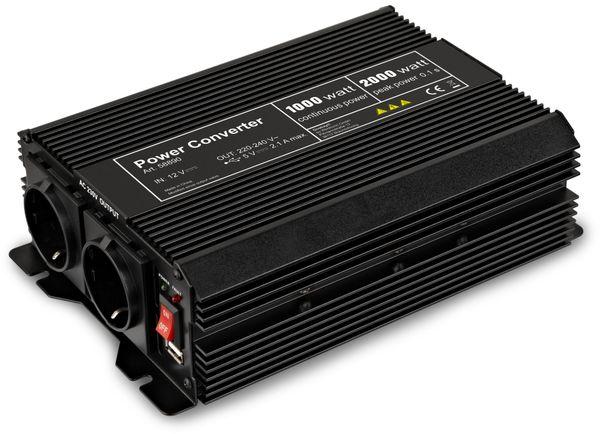 Wechselrichter, GOOBAY, 12V-/230V~,1000W