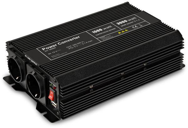 Wechselrichter, GOOBAY, 12V-/230V~,1500W