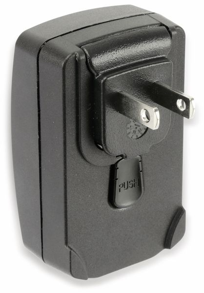 USB-Reise-Steckernetzteil, PHIHONG, PSAI05R-050Q, 230 V, 5 V/1 A - Produktbild 3