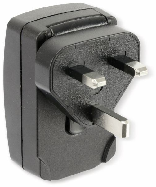 USB-Reise-Steckernetzteil, PHIHONG, PSAI05R-050Q, 230 V, 5 V/1 A - Produktbild 4