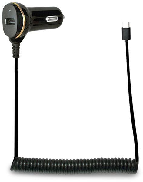 KFZ-Ladekabel LOGILINK PA0147, USB-C, 12/24 V, 2,1 A - Produktbild 1