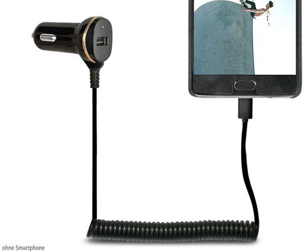 KFZ-Ladekabel LOGILINK PA0147, USB-C, 12/24 V, 2,1 A - Produktbild 2