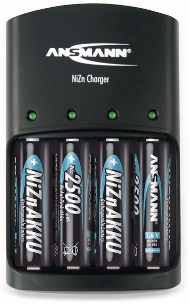Ladegerät, Ansmann, NiZn Charger, 4x AA oder AAA - Produktbild 2