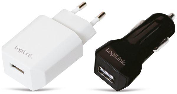 USB-Ladeset, LOGILINK, PA0109, Netz-/KFZ-Betrieb