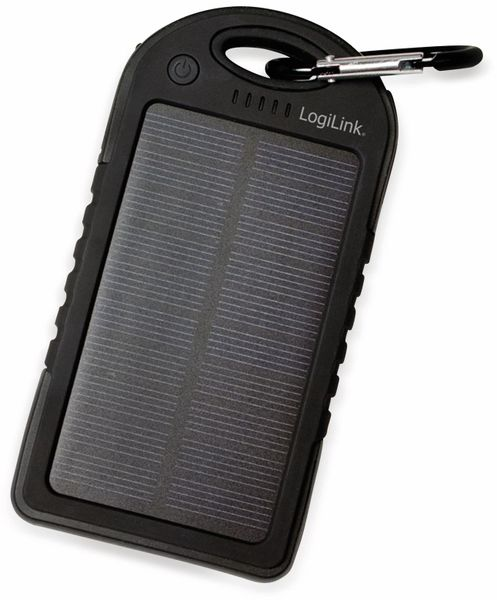 Powerbank Logilink, PA0132, Solar, mit 5000 mAh Akku