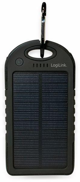 Powerbank Logilink, PA0132, Solar, mit 5000 mAh Akku - Produktbild 2