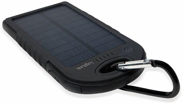 Powerbank Logilink, PA0132, Solar, mit 5000 mAh Akku - Produktbild 3