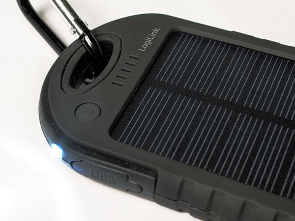 Powerbank Logilink, PA0132, Solar, mit 5000 mAh Akku - Produktbild 8