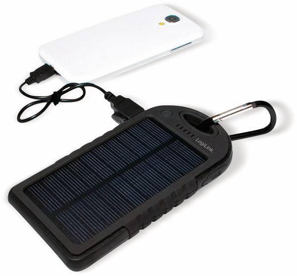 Powerbank Logilink, PA0132, Solar, mit 5000 mAh Akku - Produktbild 9