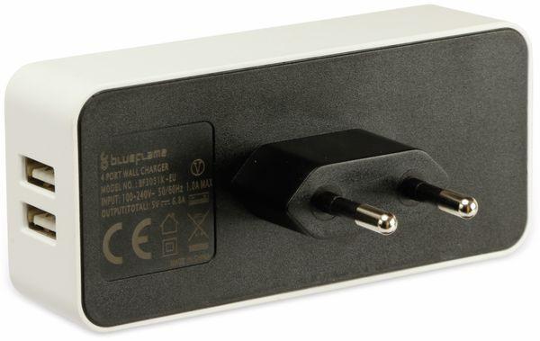 USB-Lader, blueFlame, BF3051K-EU, 4-fach, 6,8A - Produktbild 2