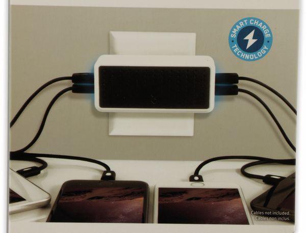 USB-Lader, blueFlame, BF3051K-EU, 4-fach, 6,8A - Produktbild 3