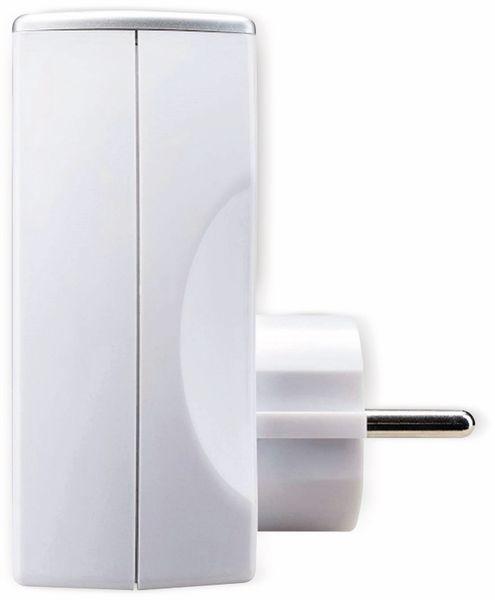 USB-Lader MASTERPLUG, 2x USB, 2,1 A, weiß - Produktbild 3