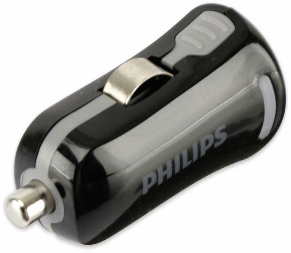 USB-Ladegerät, KFZ, 1-fach, 5V/1A, PHILIPS SLP2252/10 - Produktbild 2