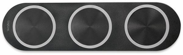 Tischladegerät für kabelloses Laden 15W, LOGILINK PA0182 - Produktbild 3