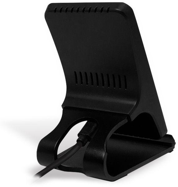Drahtlose Schnellladestation, LOGILINK PA0183, 10 W, Schwarz - Produktbild 2