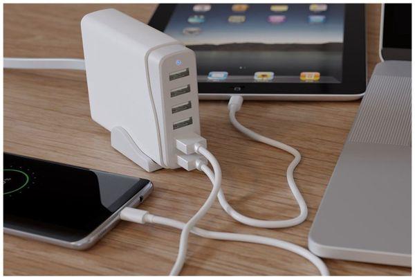 USB-Ladestation GOOBAY 44565 weiß - Produktbild 5
