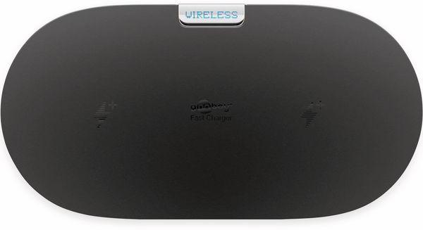 Kabellose Ladematte GOOBAY 66308, 10W, schwarz, 2x Wireless - Produktbild 3