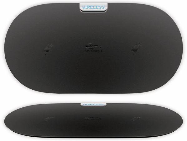Kabellose Ladematte GOOBAY 66308, 10W, schwarz, 2x Wireless - Produktbild 4
