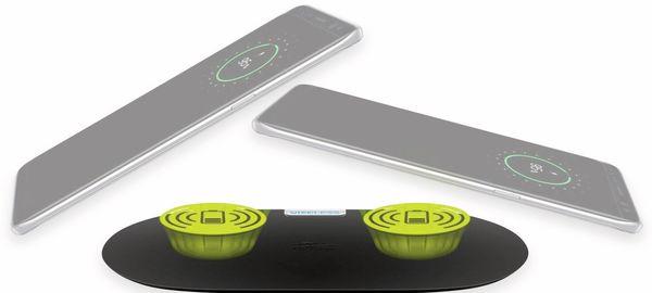 Kabellose Ladematte GOOBAY 66308, 10W, schwarz, 2x Wireless - Produktbild 5