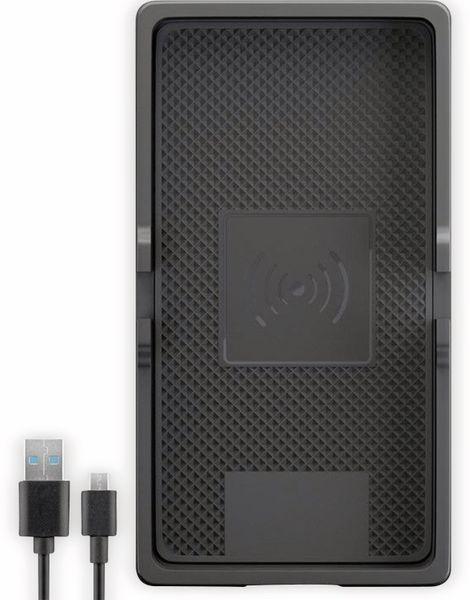 Kabellose KFZ-Ladematte GOOBAY 55479, 5 V/2 A, 10 W, Schwarz - Produktbild 2
