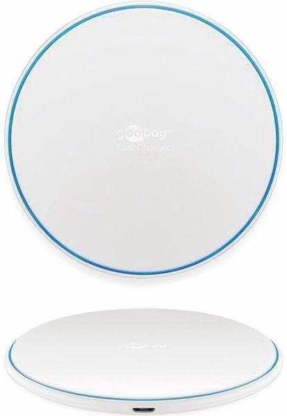 Kabelloses Ladegerät GOOBAY 45654, 10 W, Weiß - Produktbild 4