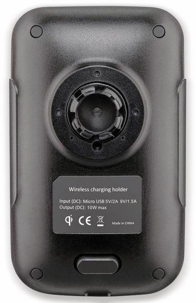 Kabelloses Ladegerät mit Handyhalterung, GOOBAY 66309, 10 W, Schwarz - Produktbild 5