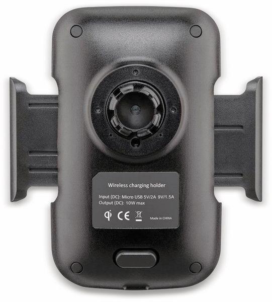 Kabelloses Ladegerät mit Handyhalterung, GOOBAY 66309, 10 W, Schwarz - Produktbild 6