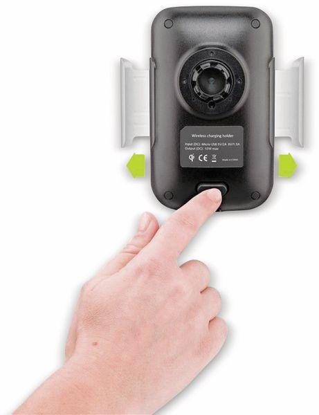 Kabelloses Ladegerät mit Handyhalterung, GOOBAY 66309, 10 W, Schwarz - Produktbild 8