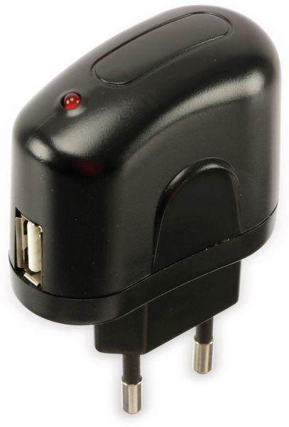 USB-Lader, ARP, 861418, 1,0 A, schwarz - Produktbild 2