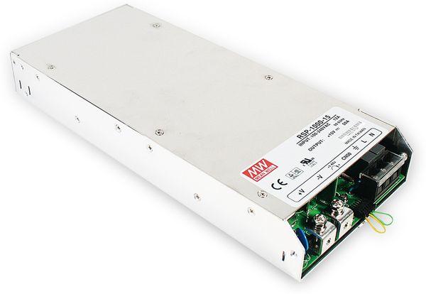 Schaltnetzteil MEANWELL RSP-1000-12, 12 V-/60 A