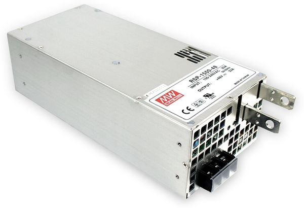Schaltnetzteil MEANWELL RSP-1500-12, 12 V-/125 A