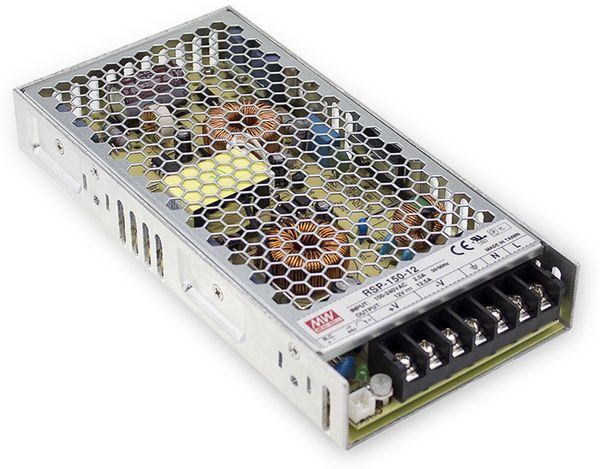Schaltnetzteil MEANWELL RSP-150-13.5, 13,5 V-/11,2 A