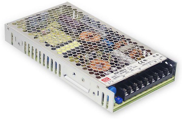 Schaltnetzteil MEANWELL RSP-200-13.5, 13,5 V-/14,9 A