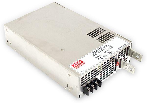 Schaltnetzteil MEANWELL RSP-2400-12, 12 V-/166,7 A