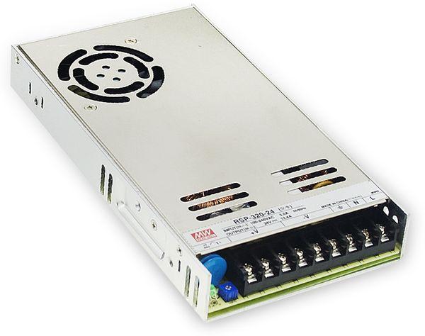 Schaltnetzteil MEANWELL RSP-320-24, 24 V-/13,4 A