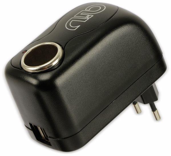 Steckernetzteil, aiv, 12V/2A, USB 5V/2x1A - Produktbild 2