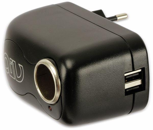 Steckernetzteil, aiv, 12V/2A, USB 5V/2x1A - Produktbild 3