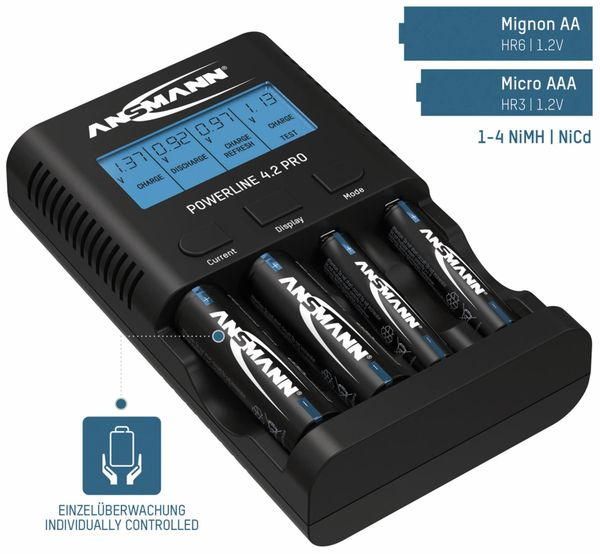 Ladegerät ANSMANN Powerline 4.2 Pro - Produktbild 2