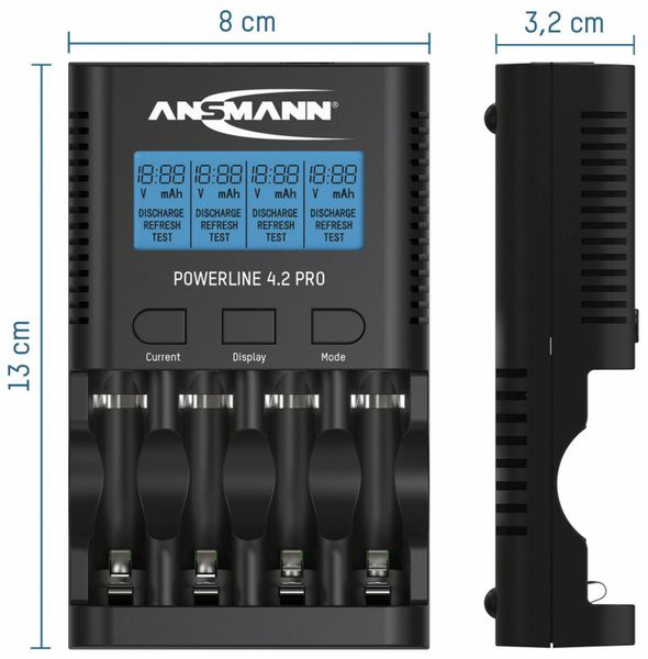 Ladegerät ANSMANN Powerline 4.2 Pro - Produktbild 5