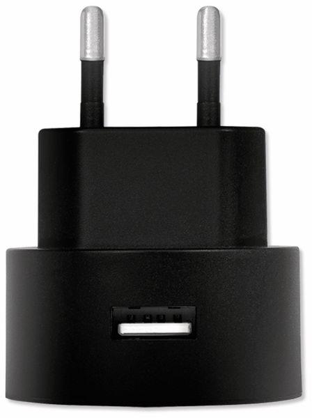 USB-Lader LOGILINK PA0217, 2,1 A, schwarz - Produktbild 2