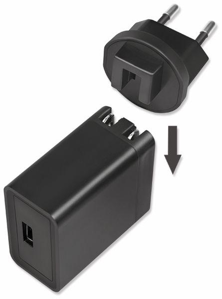 USB-Lader LOGILINK PA0188, 18 W, Reiseadapter für Quick Charge 3.0 - Produktbild 3