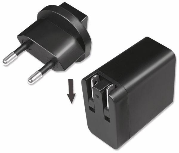 USB-Lader LOGILINK PA0188, 18 W, Reiseadapter für Quick Charge 3.0 - Produktbild 4