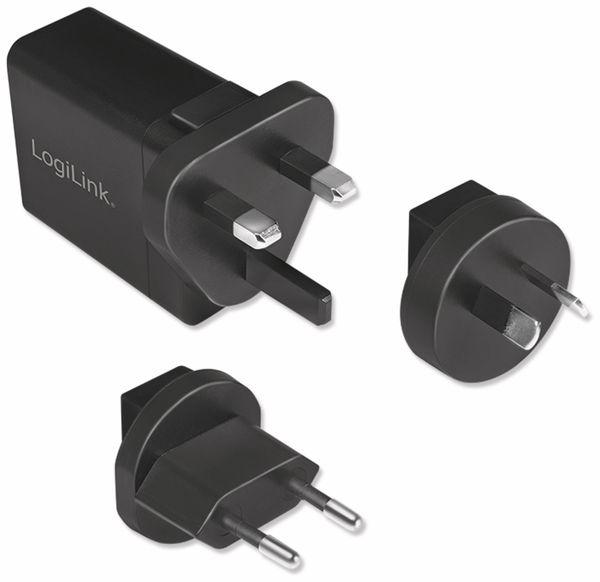 USB-Lader LOGILINK PA0188, 18 W, Reiseadapter für Quick Charge 3.0 - Produktbild 7